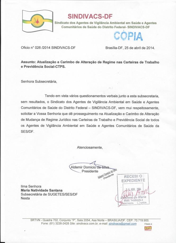 ATUALIZAÇÃO CTPS. SUGETES