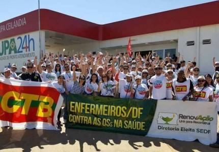 Protesto contra OSS