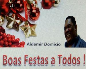 Cartão de natal Aldemir